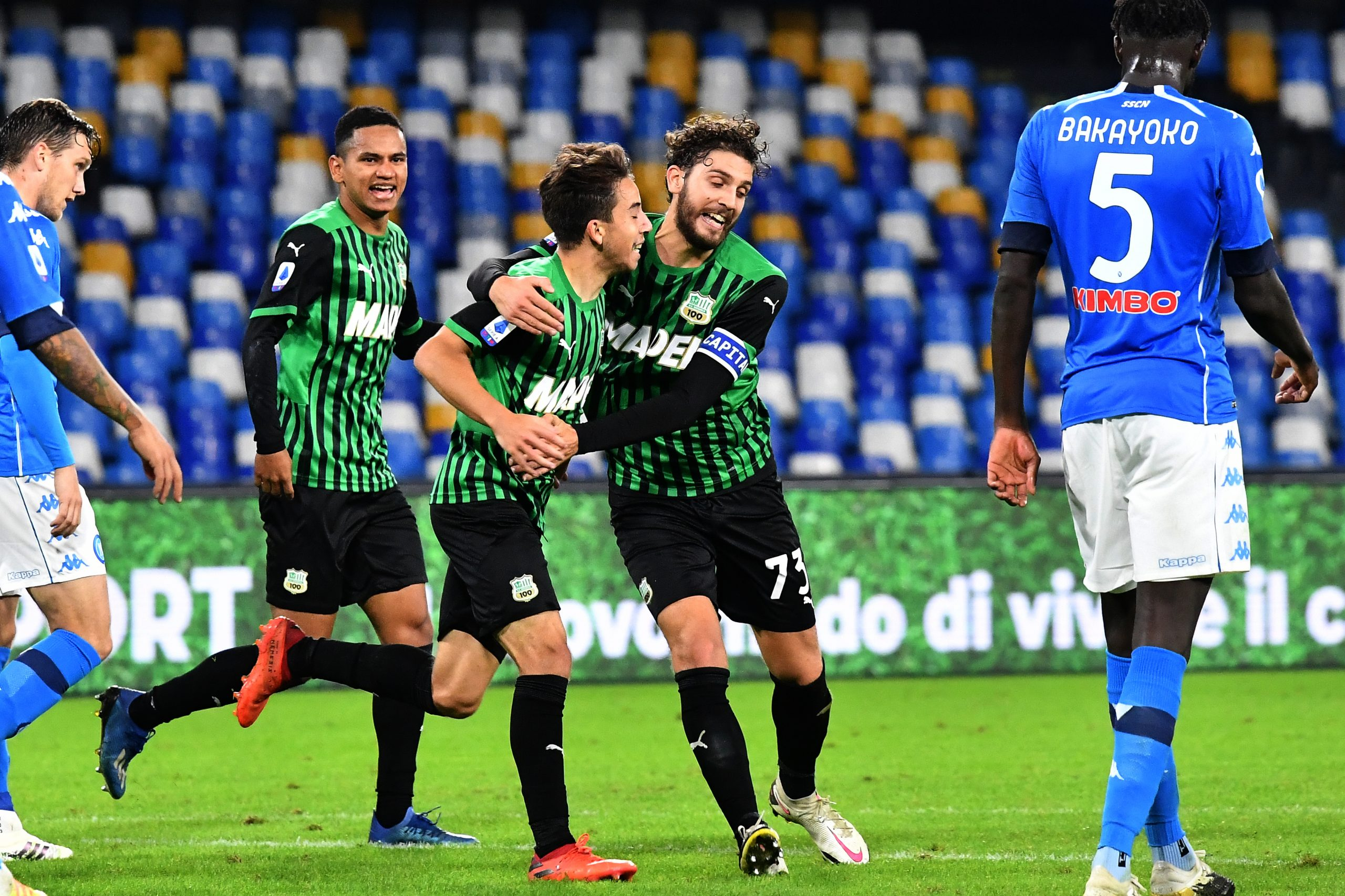 Sassuolo Target Serie A Top Spot After Flying Start