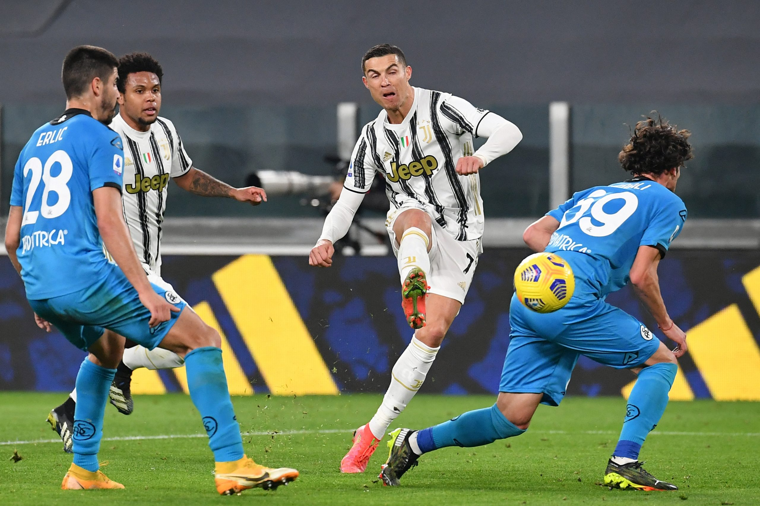 Juve boost hopes of 10th straight title with win over Spezia - SportsDesk